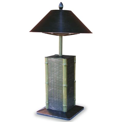 Uniflame Table L Electric Outdoor Patio Heater Sumatra Electric Heater Patio