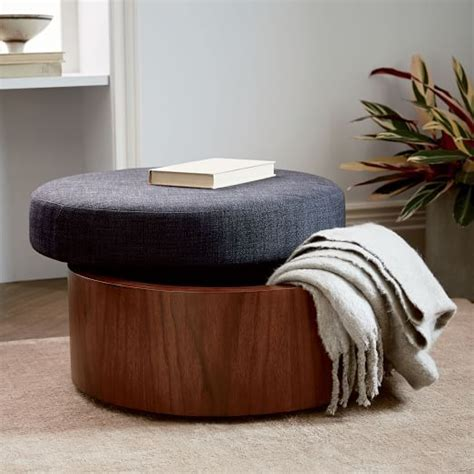 elm storage ottoman 25 best ideas about storage ottoman coffee table on