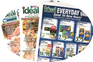 ideal food basket grocery store supermarket
