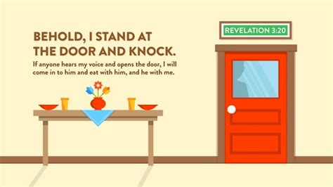 Stand At The Door And Knock by Behold I Stand At The Door And Knock If Anyone Hears