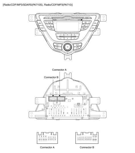 radio wiring diagram hyundai accent choice image wiring
