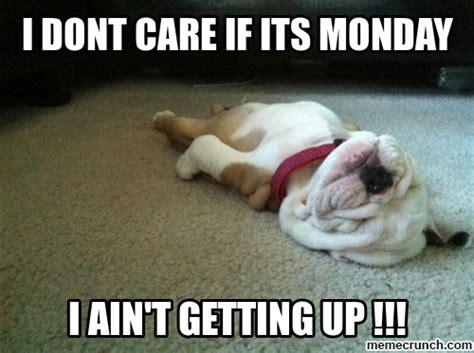 It S Monday Meme - i dont care if its monday