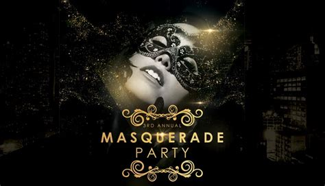 Henrik Presents Events The 3rd Annual Masquerade Party Origin Boutique Nightclub in SF