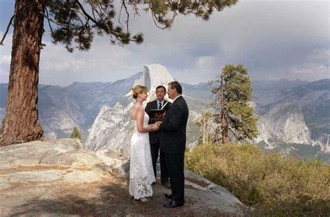 Yosemite Wedding by Unique Wedding Venue Series National Parks