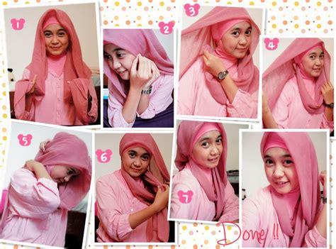 cara memakai hijab yg gang simple tutorial cara memakai hijab pashmina terbaru