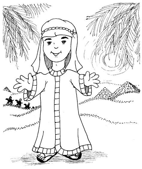 printable coloring pages joseph coat free coloring pages of joseph s coat of many colors