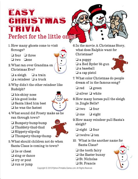 printable christmas trivia for seniors html autos weblog who am i game questions free printable html autos weblog