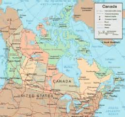 us map canada canada map vacation idea