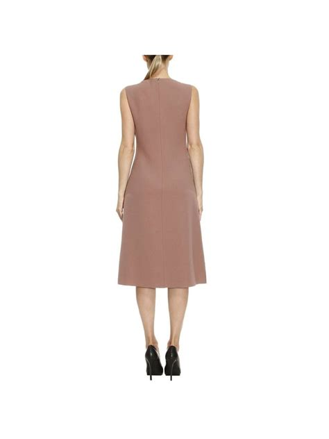 Ruffle Veneta bottega veneta ruffle on front dress in pink purple