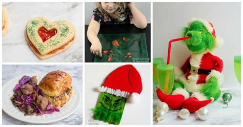 christmas crafts and recipes how the grinch stole crafts activities and recipes for