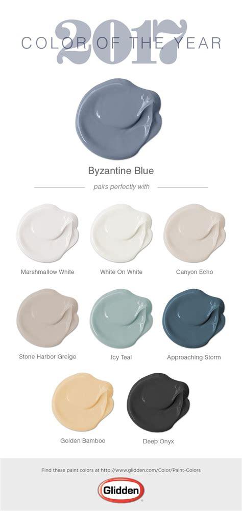 byzantine blue paint color glidden paint colors gender