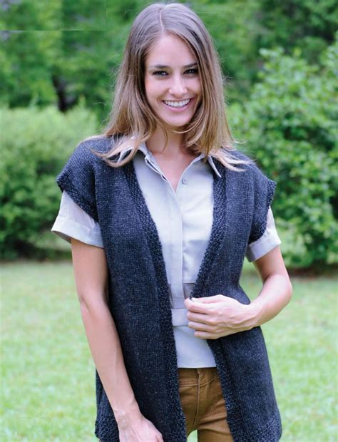 knitting abbreviations m1 s vest knitting pattern free