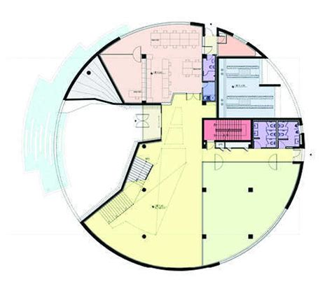 post circle floor plans gallery of in progress water circle unsangdong architects 5