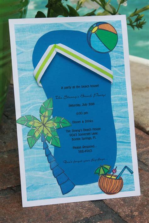 summer themed bridal shower invitations themed bridal shower invitations summer