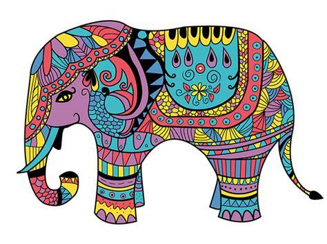 indian elephant doodle elephant doodles on behance
