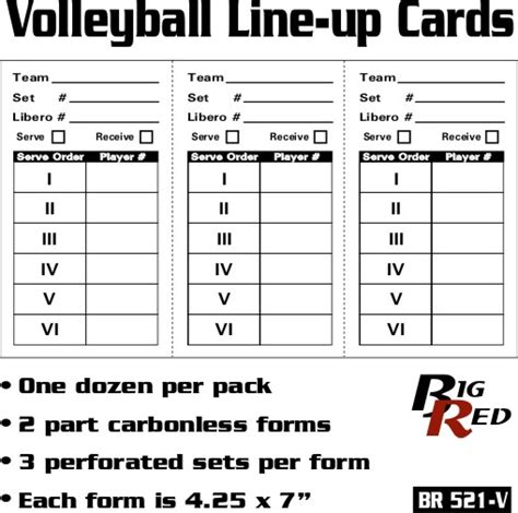 free printable volleyball lineup cards printable volleyball lineup sheets search results
