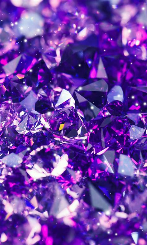 wallpaper for iphone purple purple gems wallpaper backgrounds pinterest