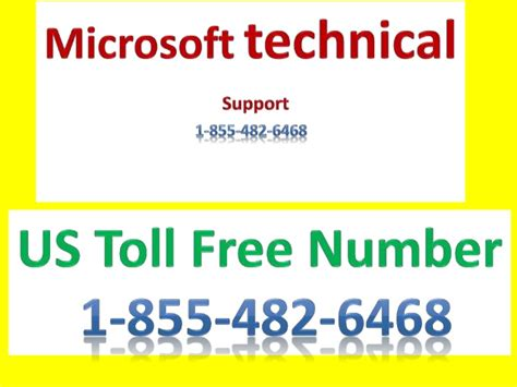 microsoft technical support contact number 1 855 482 6468