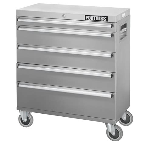 32 inch stainless steel fortress 32 inch wide 5 stainless steel rolling