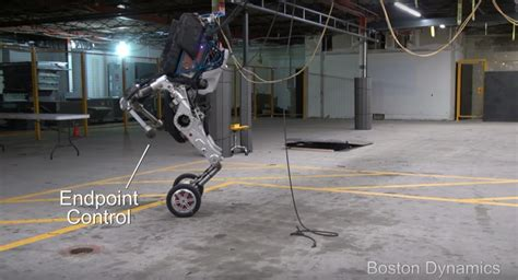 boston dynamics robot boston dynamics newest robot introducing handle robohub