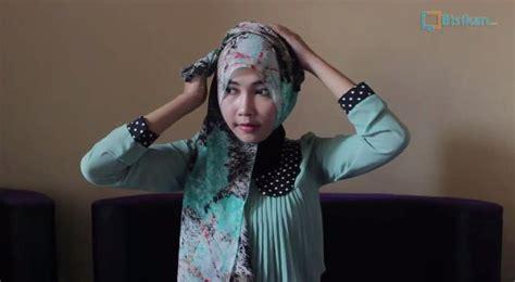 tutorial hijab pashmina sifon casual untuk ke pesta youtube tutorial hijab pashmin siffon casual untuk acara spesial