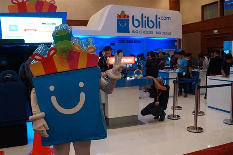 blibli friends pecah ini dia situasi booth indocomtech goes online 2016