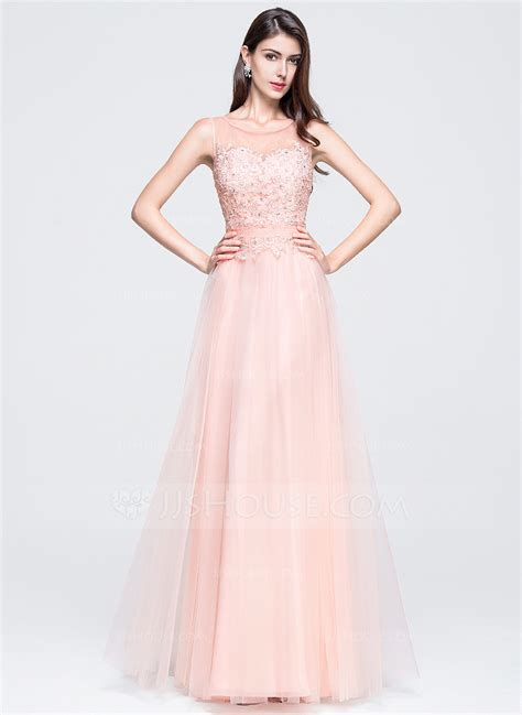 prom dresses nottingham formal dresses a line princess scoop neck floor length tulle prom dress