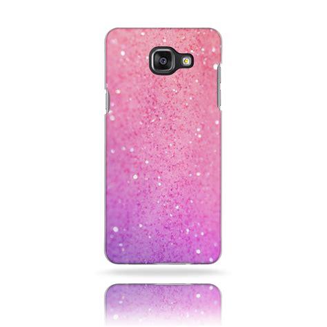 pink mobile phone bg0057 pink glitter print plastic phone cover