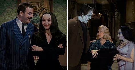 munsters in color we can t keep our these colorized versions of