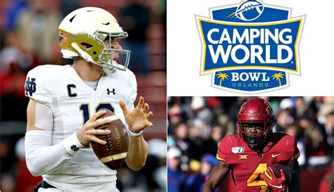 notre dame  iowa state camping world bowl prediction