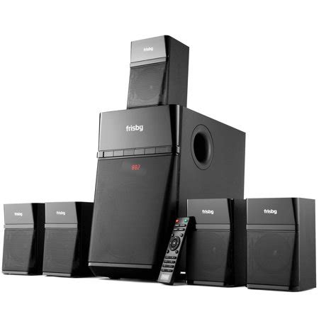 frisby home theater  surround sound system