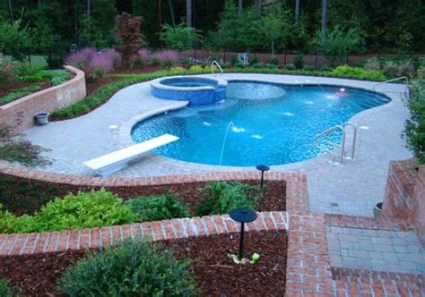 swimming pool landscaping pictures swimming pool pinehurst nc photo gallery