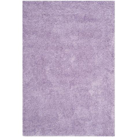 lilac area rug safavieh california shag lilac 5 ft 3 in x 7 ft 6 in