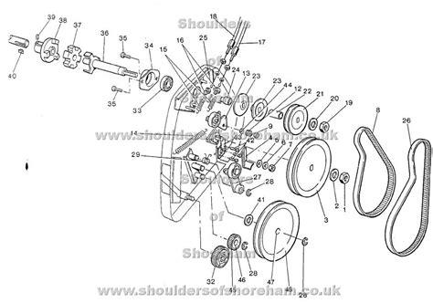 qualcast classic 35s parts diagram qualcast classic petrol 35s spares diagram from serial