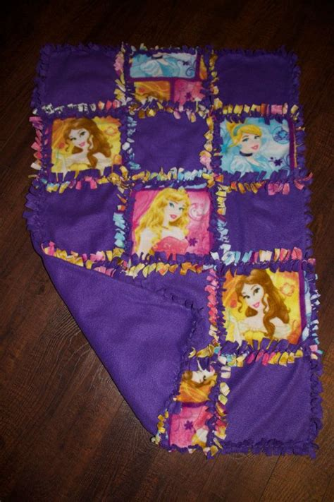 No Sew Quilt by Disney Princess Quilted No Sew Fleece Blanket 27 Quot X 42 Quot
