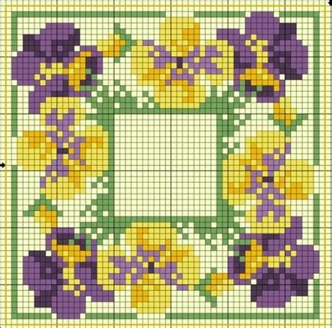 Colors Patterns To Jump Start The Weekend by 91 Best Cross Stitch Pansies Images On Cross
