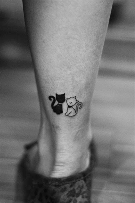 best small tattoos ever meow the best cat tattoos and more