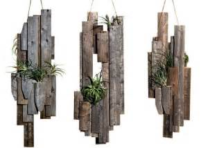 Creative hanging planters ideas pallets wood wall decoration