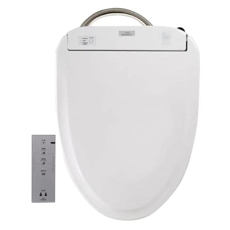 Toto Toilet With Built In Bidet toto s350e electric bidet seat for toilet with ewater washlet in cotton sw583 01 the