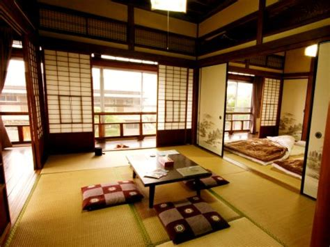 traditional japanese house interior happy neko ryokan rooms rates