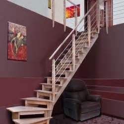 Escalier 1 4 Tournant Gauche