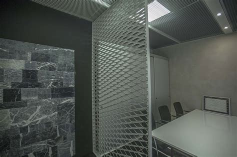 mesh interieur expanded metal mesh for interior design and furnishings