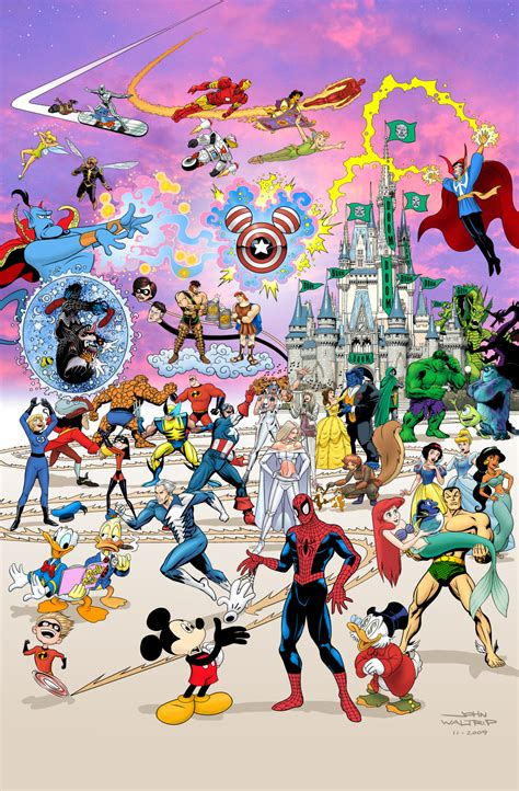 Film Disney Marvel | disney s plans for marvel s characters geektyrant