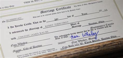 Dayton Ohio Marriage Records Wedding License Ohio Wedding Ideas 2018