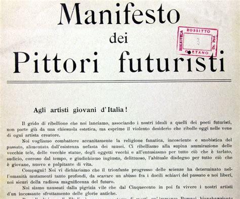 The Italian Manifesto by Manifesto Of The Futurist Painters World Digital Library