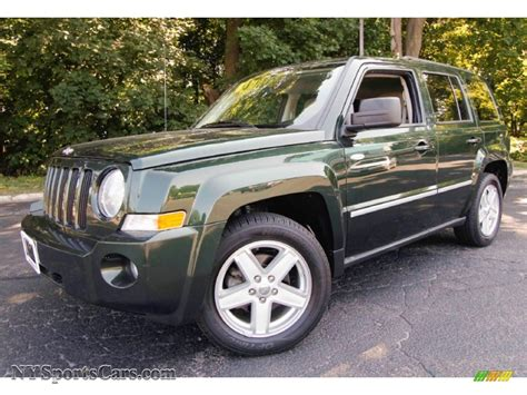 dark green jeep patriot 2010 jeep patriot sport 4x4 in natural green pearl
