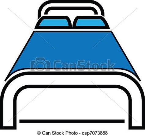 Twin Bed Plans Vector Of Bed Icon Vector Illustration Bold Bed Icon Can