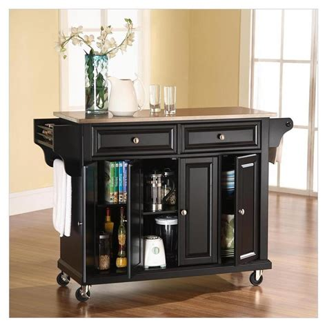Movable Cabinets Kitchen Traditional Kitchen Islands Carts Portable Medium Maple Cutting Board Butcher Block Catskill
