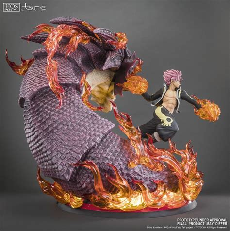 Natzu Limited natsu slayer tsume vos statues de collection