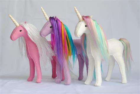 sewing pattern unicorn diy stuffed unicorn sewing kits make rainbow plush unicorns